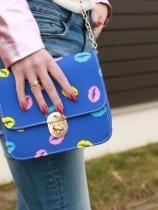 Śliczna torebka, piękne kolory, uwielbiam ją jest niezwykła/